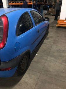 Opel Corsa C 2008 1.0 benzina albastru (2)