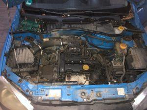 Opel Corsa C 2008 1.0 benzina albastru (5)